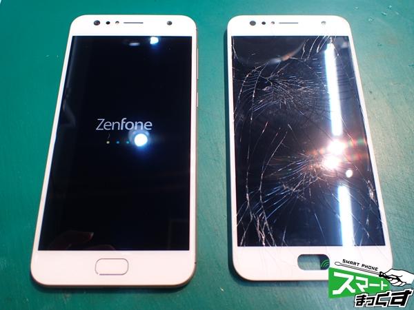 ZenFone 4 Selfie-ディスプレイ交換