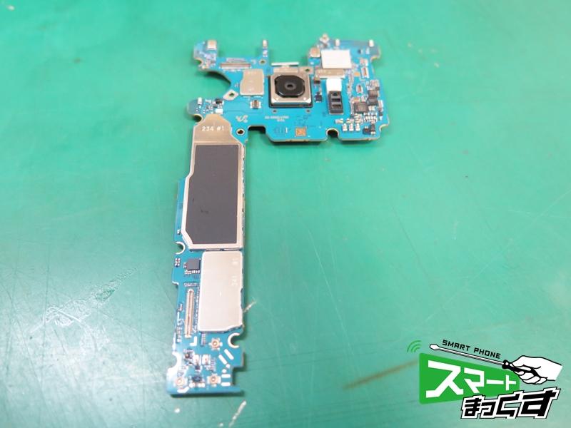 Galaxy S9 内部基板です。