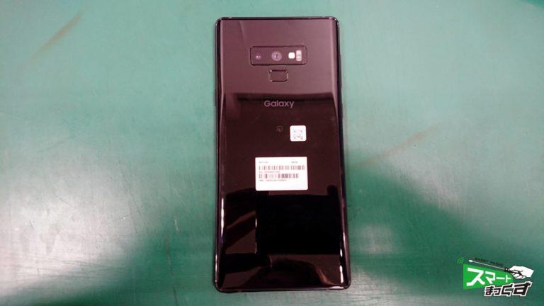 Galaxy NOTE9(SCV40) ガラス割れ交換修理!-2