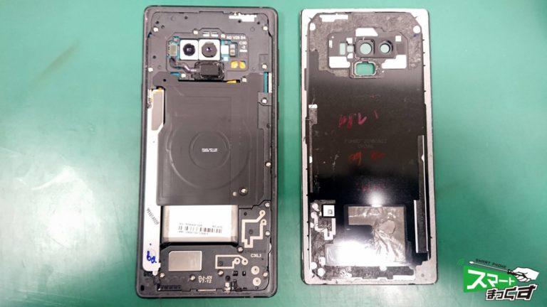 Galaxy NOTE9(SCV40) ガラス割れ交換修理!-3
