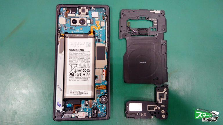 Galaxy NOTE9(SCV40) ガラス割れ交換修理!-4
