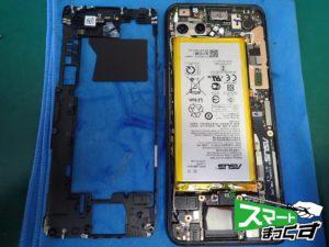 ROG Phone2 ZS660KL 内フレーム分解
