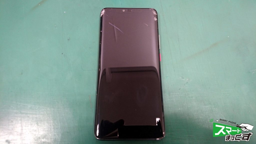 HUAWEI MATE 20 Pro ガラス割れ交換修理!-1