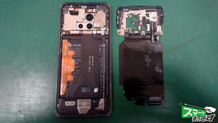 HUAWEI MATE 20 Pro ガラス割れ交換修理!-4