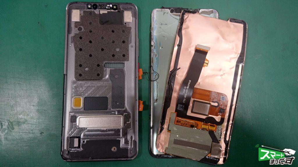 HUAWEI MATE 20 Pro ガラス割れ交換修理!-6