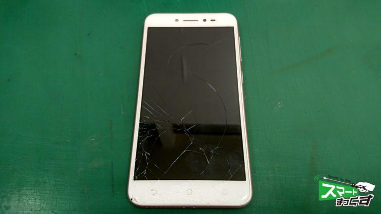 Zenfone Live ZB501KL ガラス割れ交換修理!-1