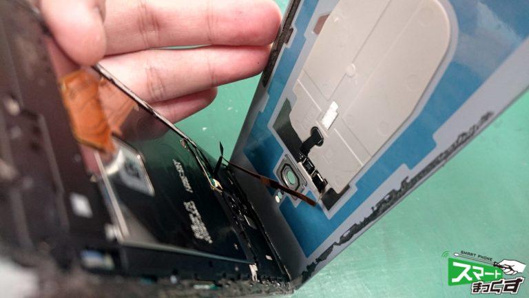 Xperia XZ3 (SO-01L/SOV39)ガラス割れ交換 即日修理!-3