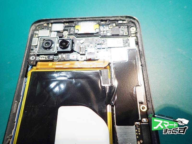 ROG Phone ZS600KL 基板上部
