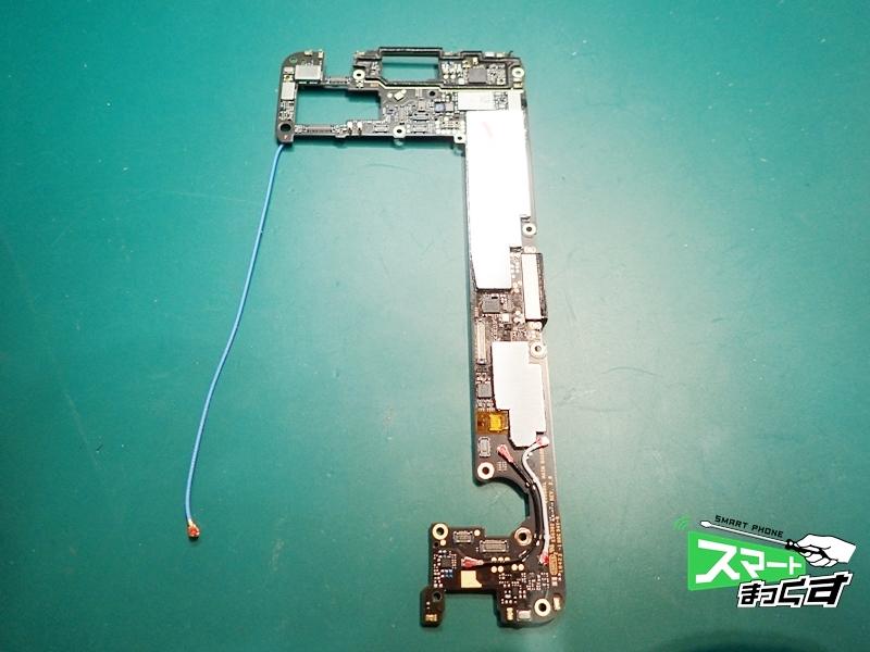 ROG Phone ZS600KL 取り外した基板