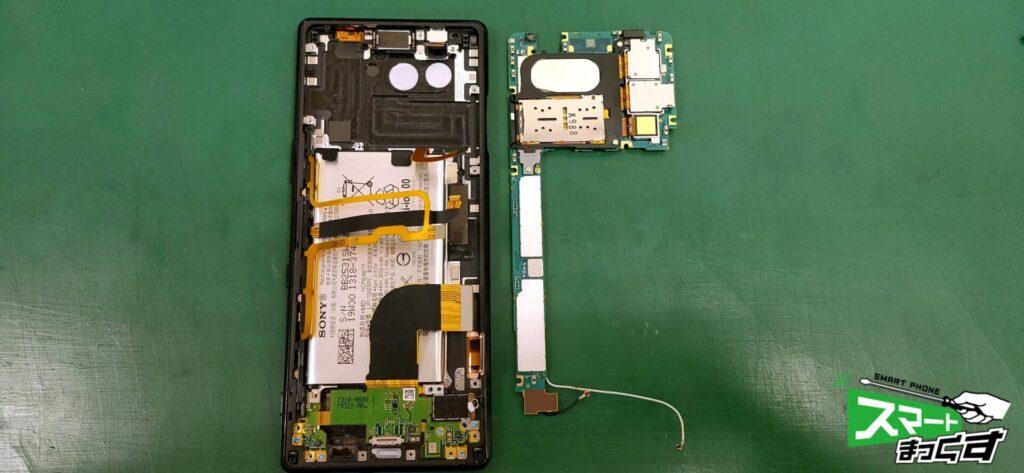Xperia 5 ディスプレイユニット交換修理!-1