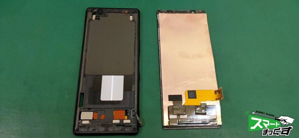 Xperia 5 ディスプレイユニット交換修理!-2