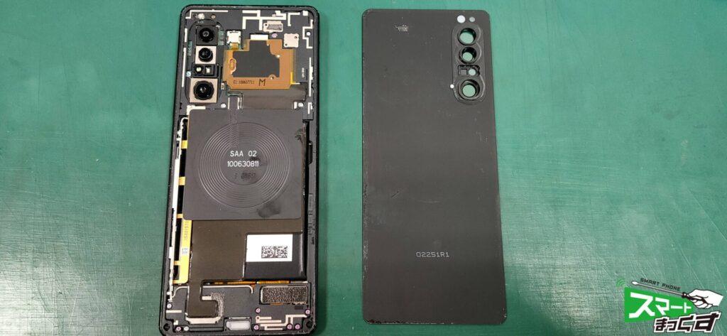 Xperia 1 Ⅱ ディスプレイ交換修理! -1