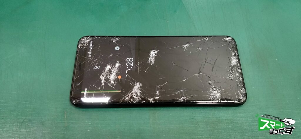 google Pixel 4 XL ガラス・液晶割れ修理!-2
