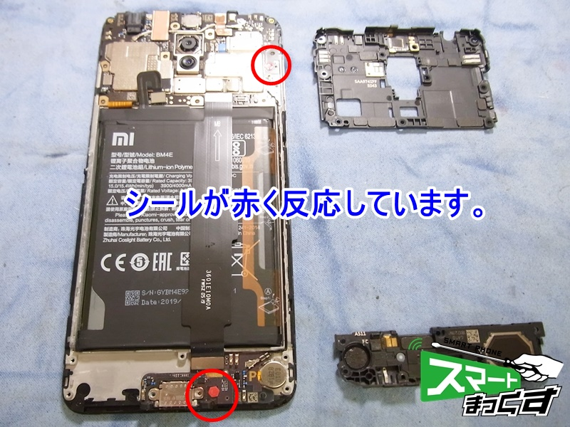 Xiaomi Pocophone F1 分解開始